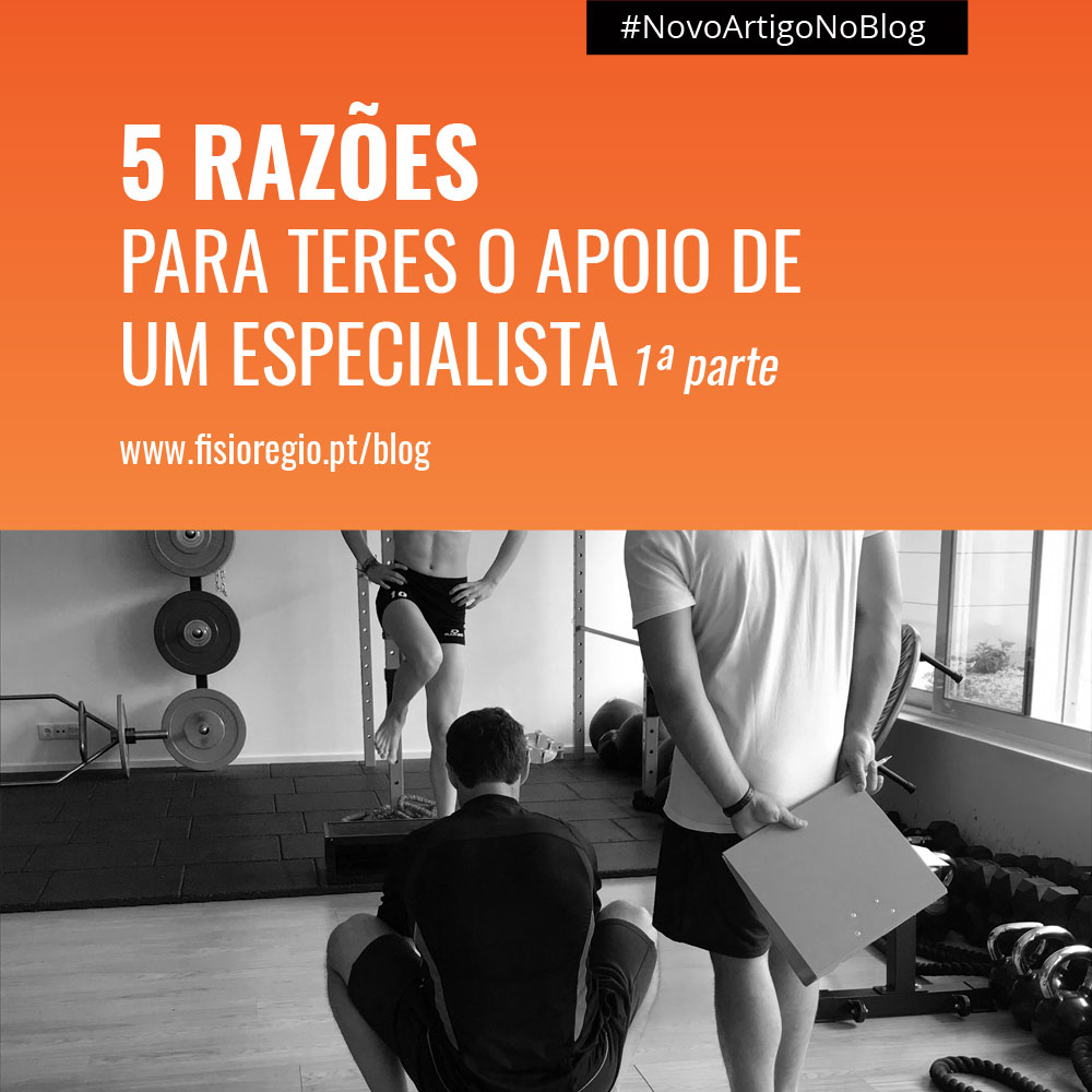 Strength and Conditioning Coach | 5 Razões para teres o apoio de um Especialista -1ª parte